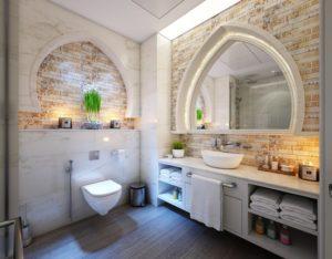 nowatorskie lustra łazienkowe